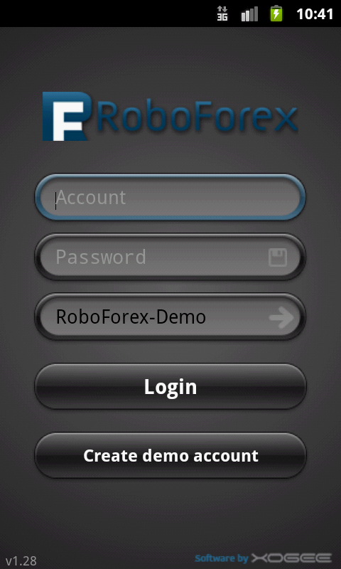 Android Trader How to Login