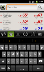 AndroidTrader Search
