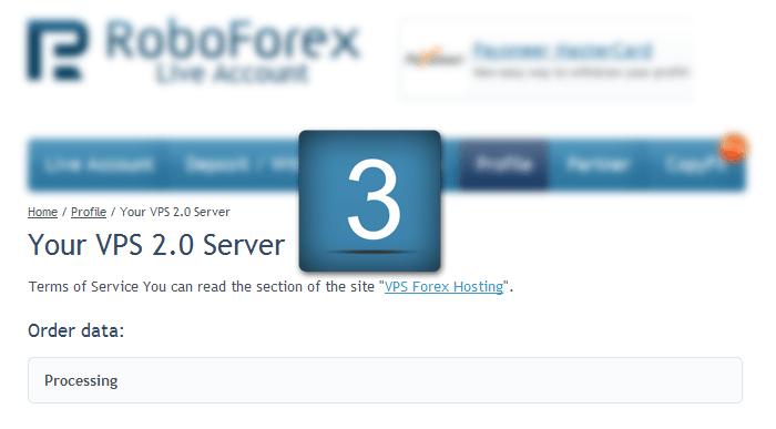 Order VPS Server